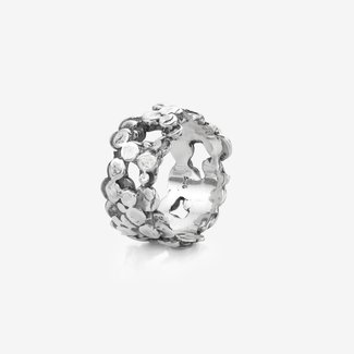Rebel & Rose Sterling Silver Rings - Ring Dots & Dots