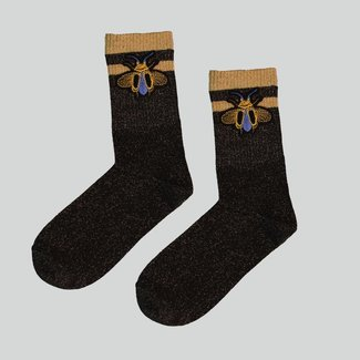 Pinned by K SOCKS BEE - Brown