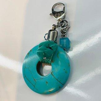 Pimps & Pearls Bedel Turquoise Magnesite
