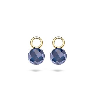 Blush Gold Jewels Oorbedels 9044YDB - Geel Goud (14Krt.) met Zirconia