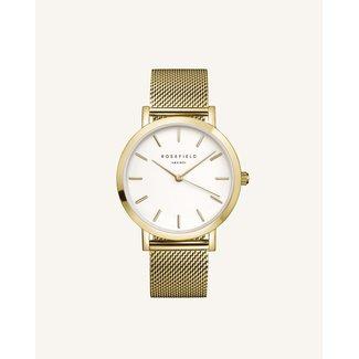 ROSEFIELD Dames Horloge The Mercer White Gold 38mm