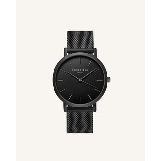 ROSEFIELD Dames Horloge The Mercer Black Black 38mm
