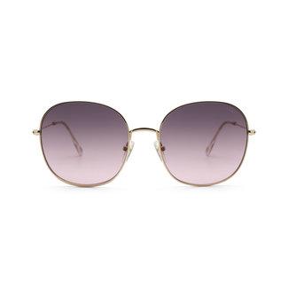 IKKI Zonnebril Celeste Gold - gradient pink