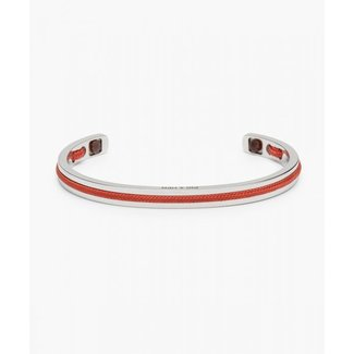 Pig & Hen NAVARCH 6MM CORAL RED | SILVER