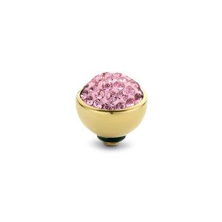 Melano Jewelry Twisted Shiny Light Rose -  Goudkleurig