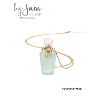 By Jam Gioielli Ketting Parfumflesje - Aventurine