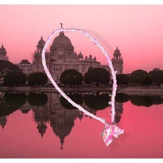 Loffs Ketting Sari - Pink
