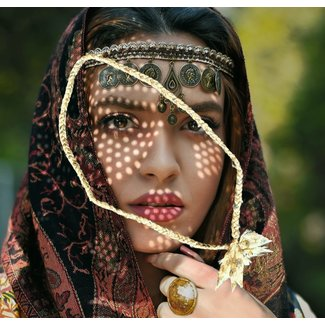 Loffs Ketting Sari - Naturel
