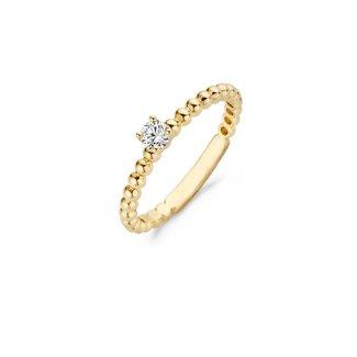 Blush Gold Jewels Ring 1111YZI - 14k Geelgoud met Zirkonia