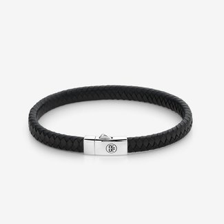 Rebel & Rose Absolutely Leather - Small Braided I Black-Earth