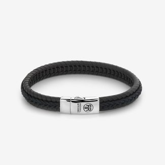 Rebel & Rose Absolutely Leather - Dual Twisted I Black-Earth