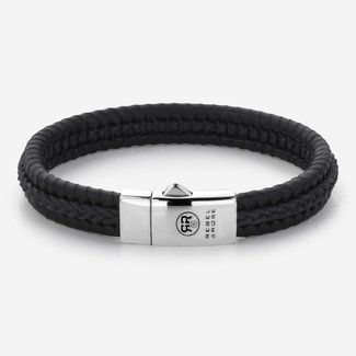Rebel & Rose Absolutely Leather - Dual Twisted I Black