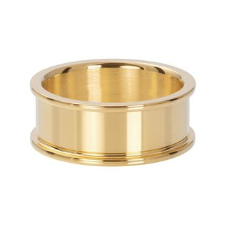 IXXXI Jewelry Basisring 8 mm - Goudkleurig