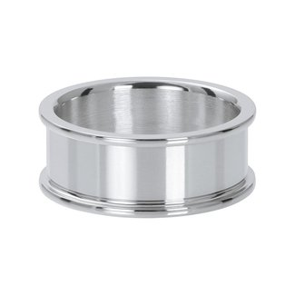 IXXXI Jewelry Basisring 8 mm - Zilverkleurig