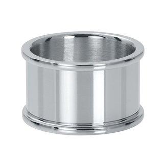 IXXXI Jewelry Basisring 12 mm - Zilverkleurig