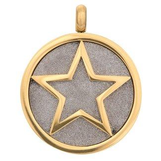 IXXXI Jewelry Charm Glamour Star - Goudkleurig
