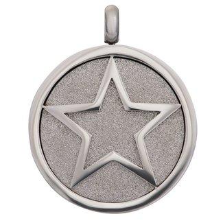 IXXXI Jewelry Charm Glamour Star  - Zilverkleurig