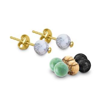 Melano Jewelry Cateye Carice Oorbellen Set