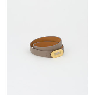 ZAG BIJOUX Armband Sydney Grijs - Nude