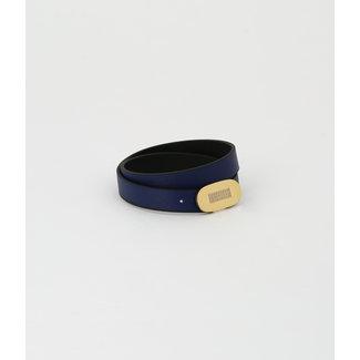 ZAG BIJOUX Armband Sydney Donkerblauw - Zwart