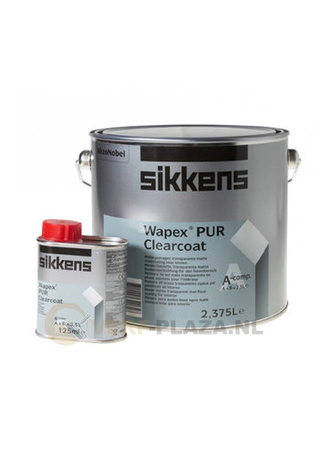 Sikkens Wapex PUR Clearcoat Mat 2,5 Liter