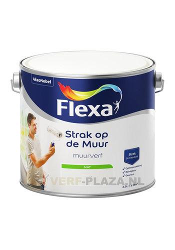 Flexa Strak op de muur