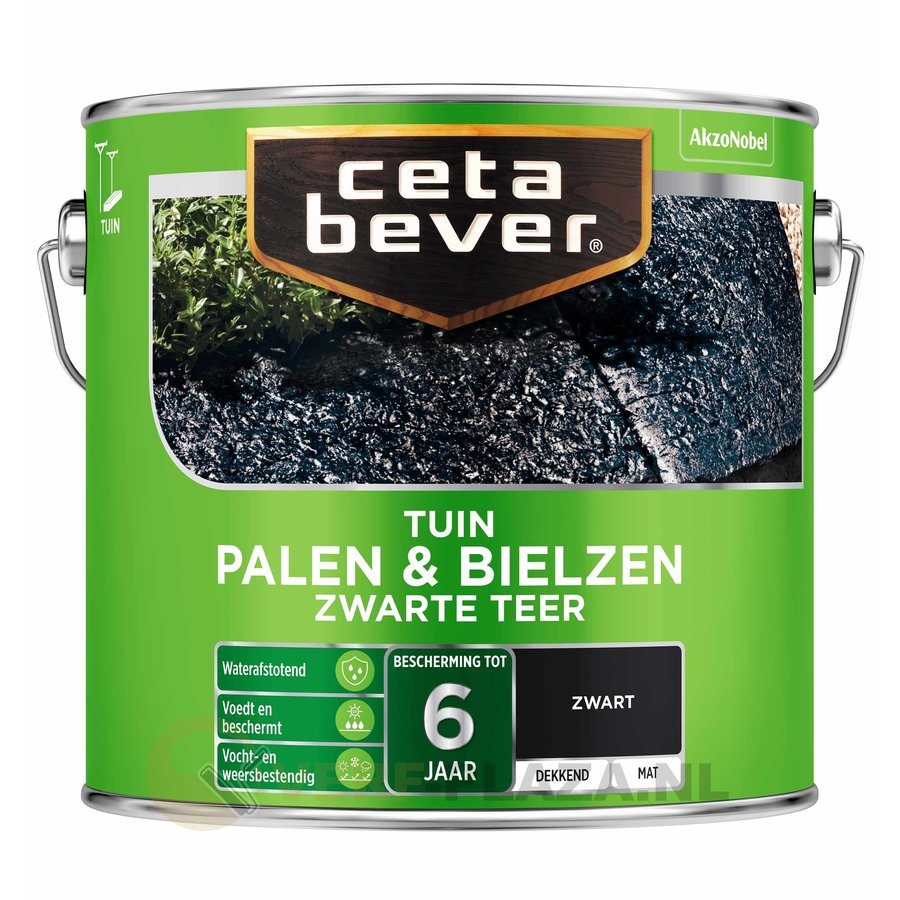 CetaBever Palen & Bielzen Zwarte Teer-1