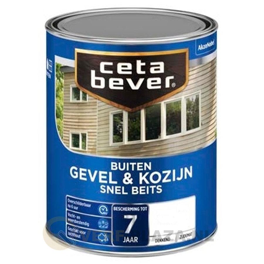CetaBever Dekkend Snelbeits Gevel & Kozijn - Mengkleur - 1 l-1