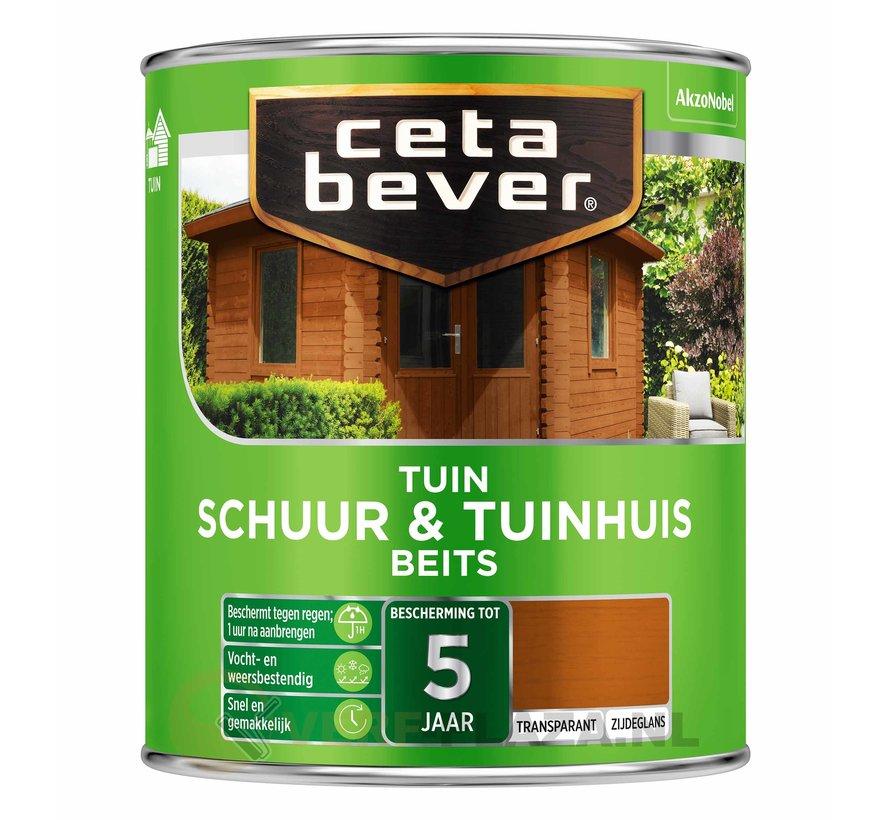 CetaBever Schuur & Tuinhuis Beits Transparant
