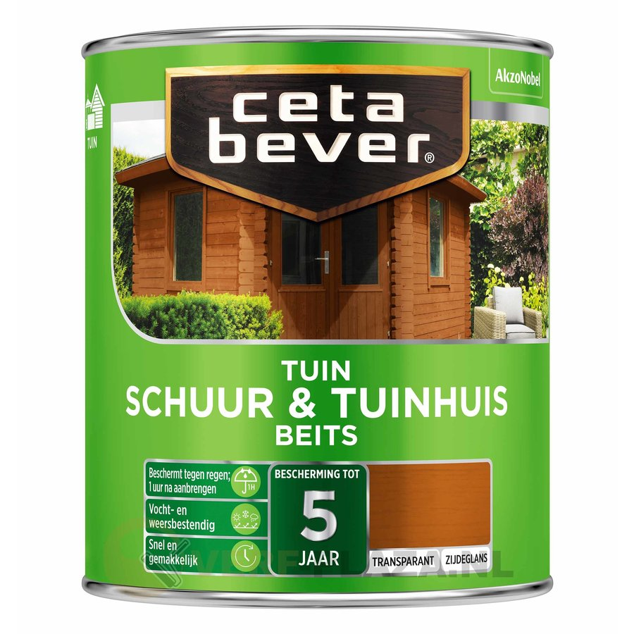 CetaBever Schuur & Tuinhuis Beits Transparant-1