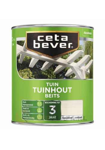CetaBever Tuinhout Beits Transparant