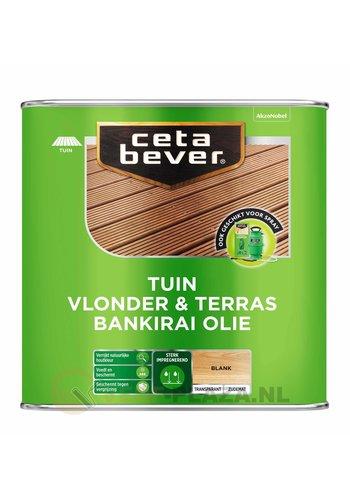 CetaBever Vlonder & Terras Bankirai Olie - UV Proof