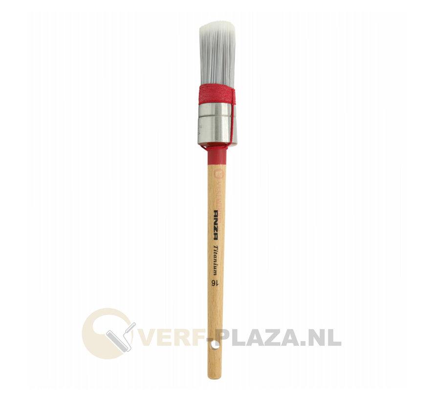 Anza Serie 7020 Kwast Titanium Mix Rond - Alkyd