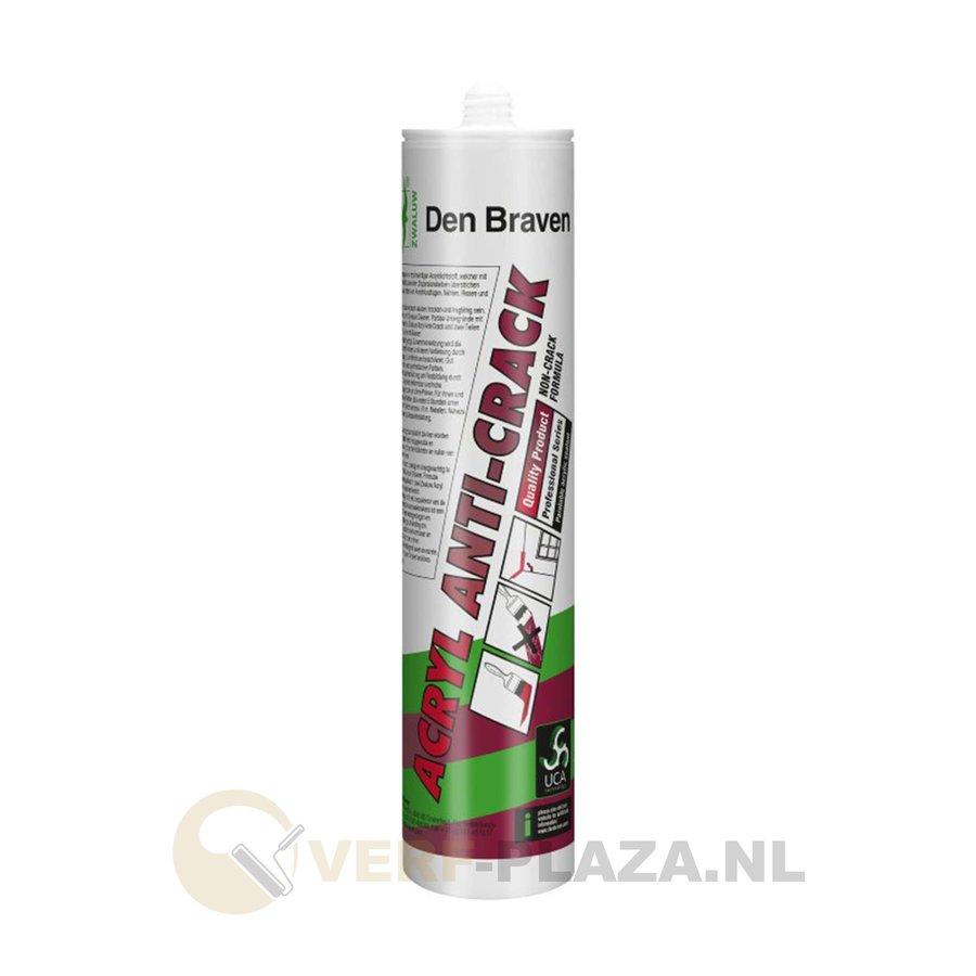 Den Braven Zwaluw Anti Crack - Wit - 310 ml-1