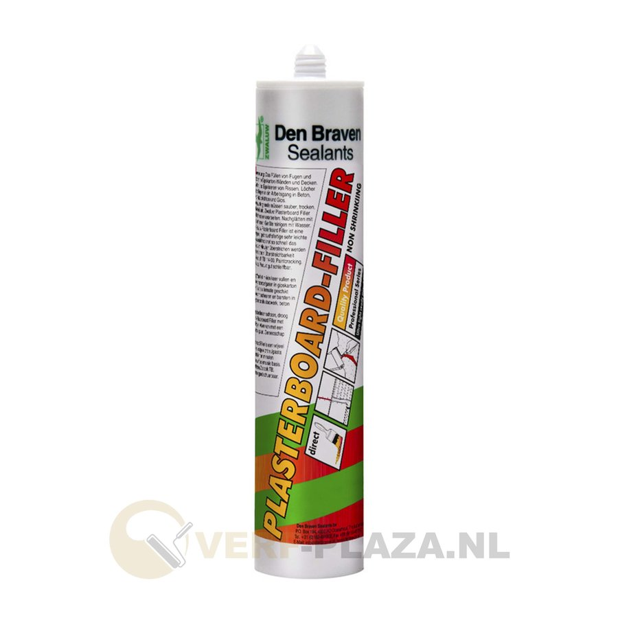 Den Braven Zwaluw Plasterboard Filler  - 310 ml-1