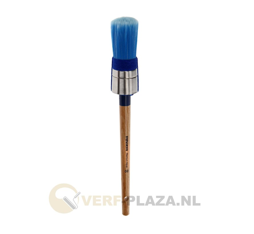 Anza Serie 720 Titanium Aqua Rond Patentpunt kwast