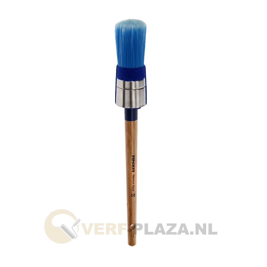 Anza Serie 720 Titanium Aqua Rond Kwast-1
