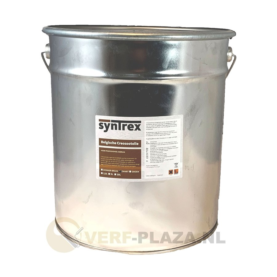 Belgische Creosoot olie - Zwart - 20 liter-1