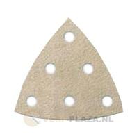 Klingspor schuurpapier - Driehoek 96 x 96 x 96 mm