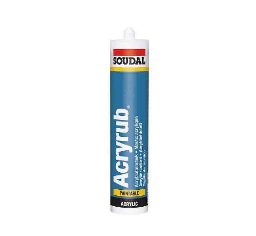 Soudal Acryrub Acrylaatkit - 310 ml
