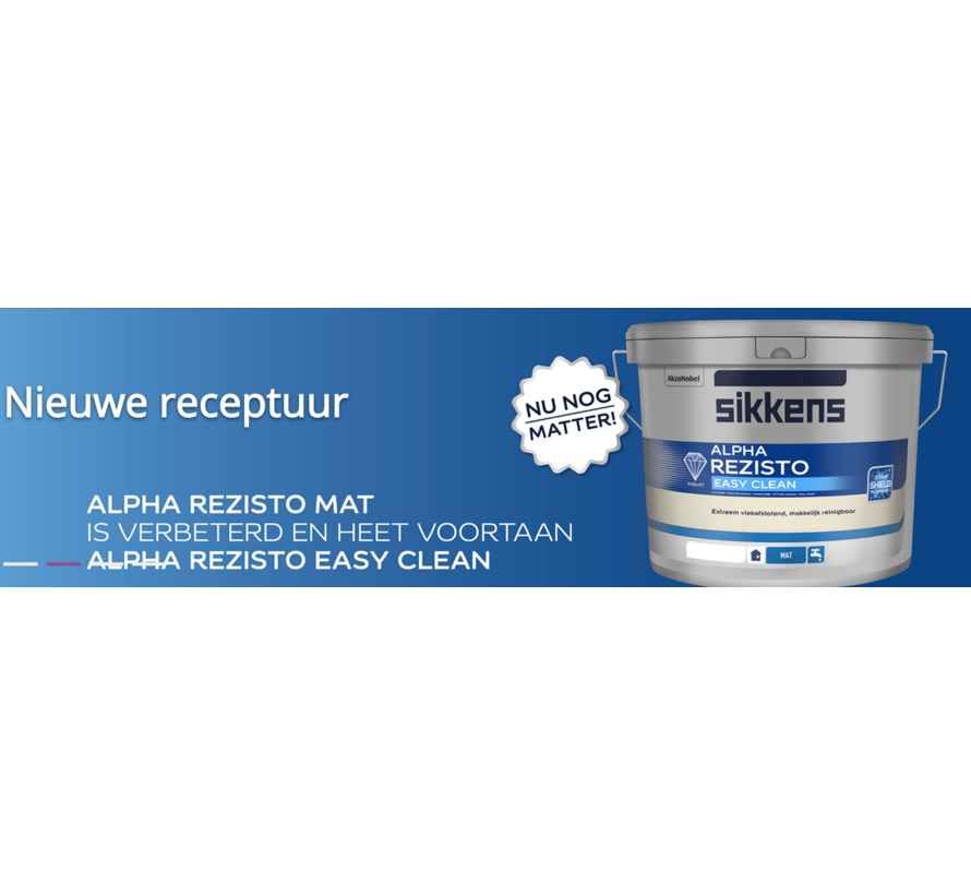 Sikkens Alpha Rezisto Easy Clean RAL 9010