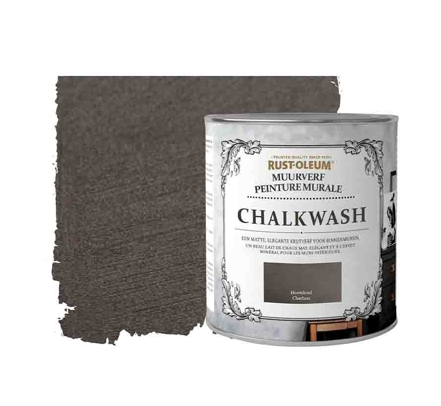 Rust-Oleum Chalkwash houtskool - Muurverf