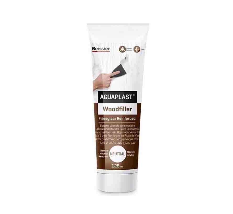 Aguaplast Woodfiller - 125 gram wit