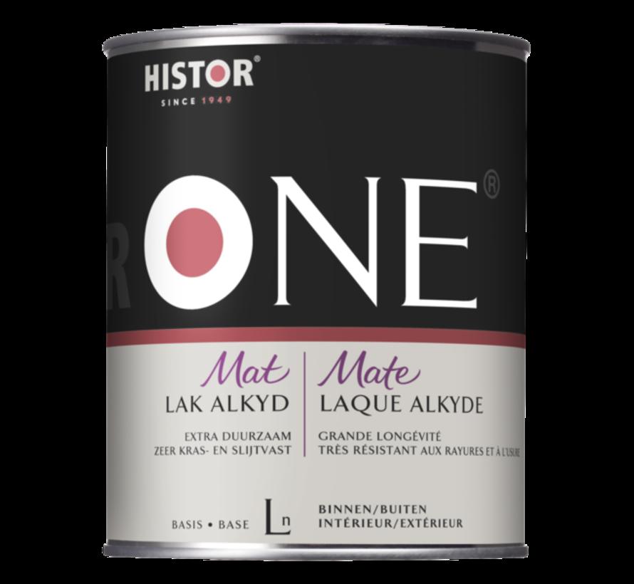 Histor One Lak Mat Alkyd