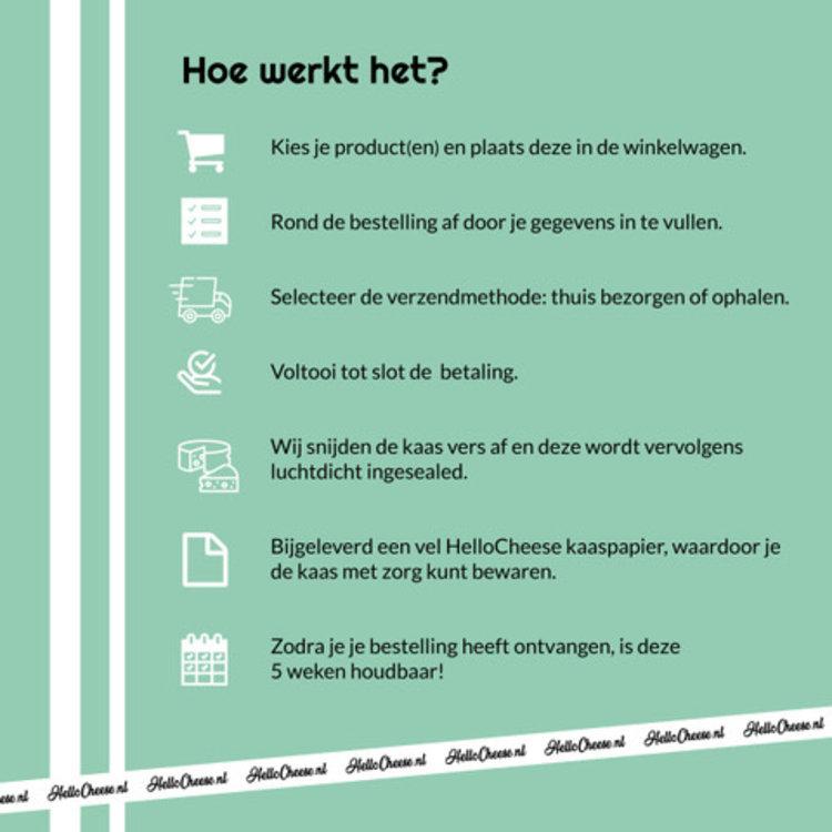 Blije Geit Blije Geit Pikant Belegen kaas van HelloCheese.nl