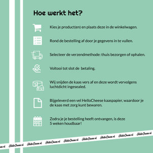 Hennekam Zonnige Zondag - Met extra pit +/- 1,2KG