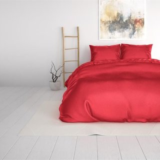 Beauty Skin Care Duvet Cover Red
