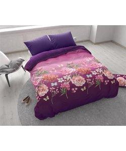 Bright Flowers Purple