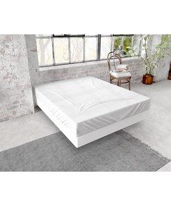 Hoeslaken Flannel 150g. White