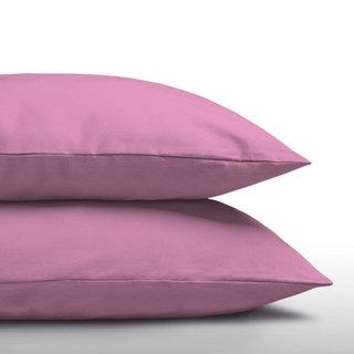 Katoenen Kussenslopen (2 in 1) Pink